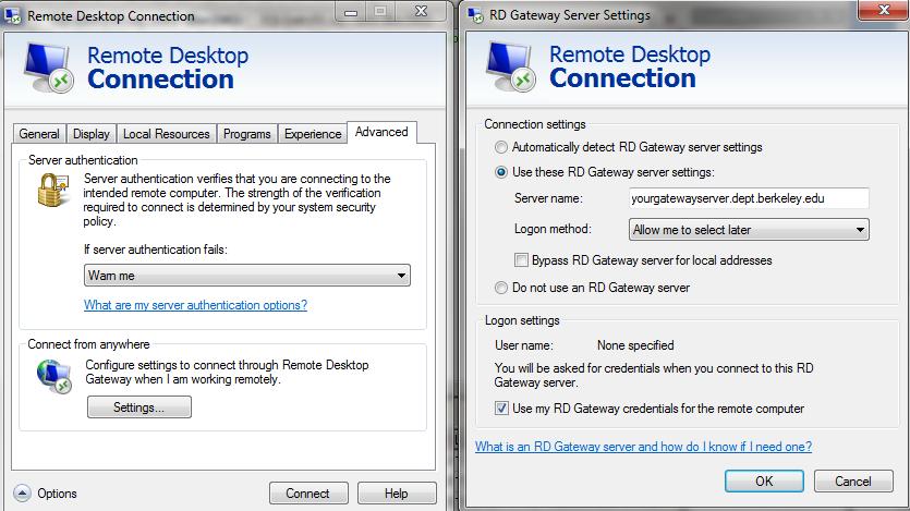 gateway computer default administrator password