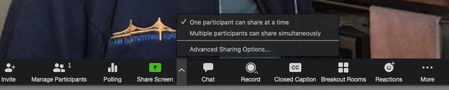 One Share Screen