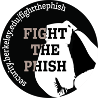 Fight the Phish Sticker
