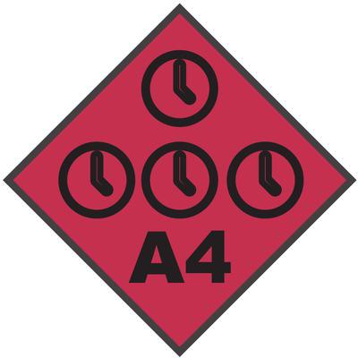 A4 Flag